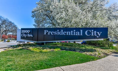 Community Signage, Jefferson at Presidential City, 2