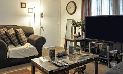 Living Room, Harvard Apartments, 1