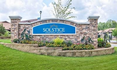 Community Signage, Solstice, 2