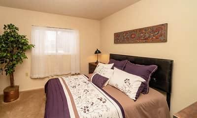 Bedroom, Oak Shores Apartments, 2