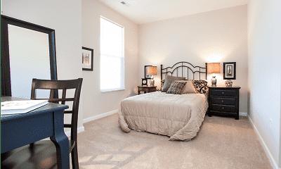 Bedroom, Residences at Wheaton Village, 1