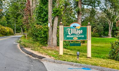 Community Signage, Village Apartments, 2