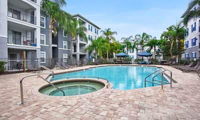 Pool, University LinQ - Per Bed Lease, 2