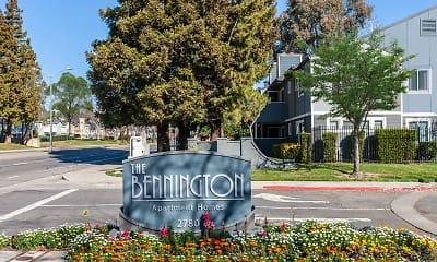 Community Signage, Bennington Apartments, 2