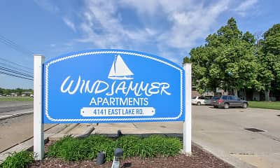 Community Signage, Windjammer Apartments, 2