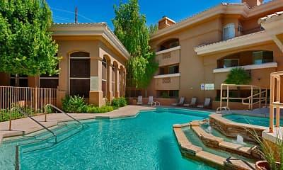 Pool, Cibola Apartments, 1