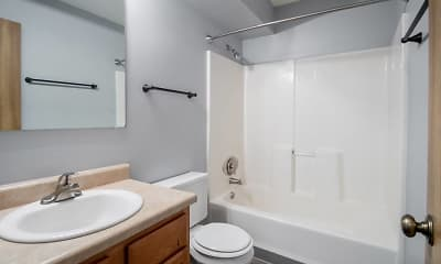 Bathroom, Crystal Ridge Apartments, 2