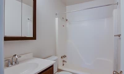 Bathroom, West Beach Apartments, 2