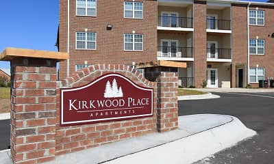 Community Signage, Kirkwood Place Apartments, 0