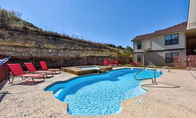 Pool, River Ranch Apartments, 1