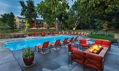 Patio / Deck, Woodland Hills Apartments, 1