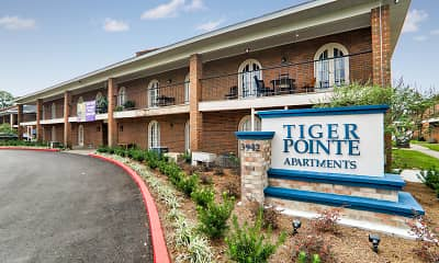 Community Signage, Tiger Pointe Apartments, 0
