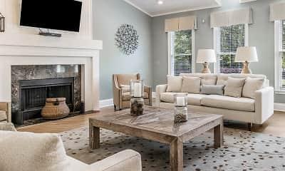 Living Room, Falls At Spring Creek Apartment Homes, 1