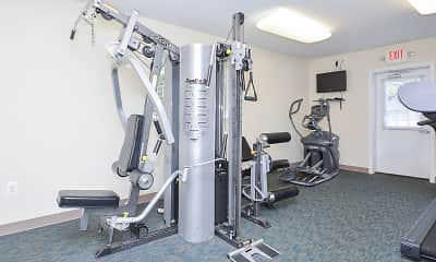 Fitness Weight Room, Willow Run, 2