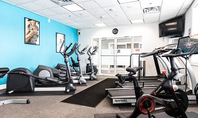 Fitness Weight Room, Autumn Creek Apartments, 2