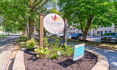 Community Signage, Chapelwood Place Apartments, 1