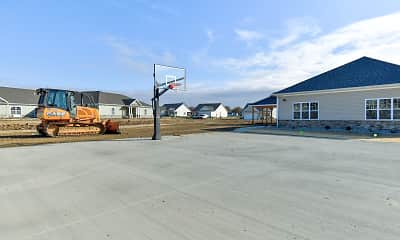 Basketball Court, Bison Ridge Estates, 2