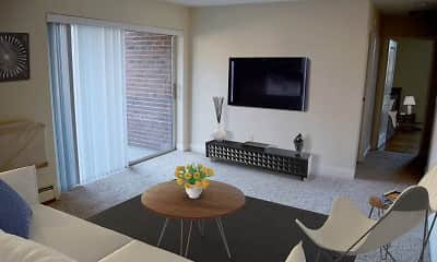 Living Room, Quincy Commons, 2