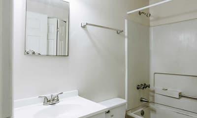 Bathroom, Bridge Crossing Apartments, 2