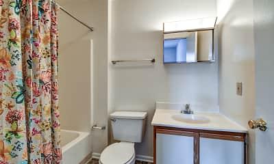Bathroom, High Pointe Club Apartments, 2