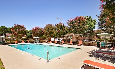 Pool, Ridgewood Apartments, 1