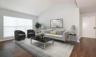 Living Room, Yorktowne Village, 1