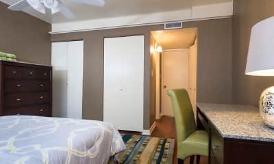 Bedroom, Mount Vernon Apartments, 2