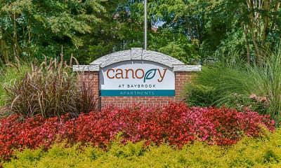 Community Signage, Canopy at Baybrook, 0