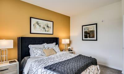 Bedroom, Union Flats, 2