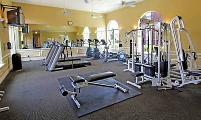 Fitness Weight Room, Saddlebrook, 1