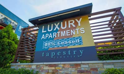 Community Signage, Tapestry Glenview, 2