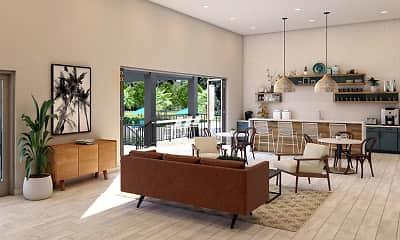 Living Room, The Avant at Pembroke Pines, 0