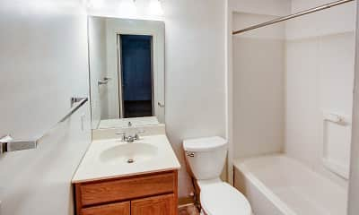 Bathroom, Ramblewood Apartments, 2