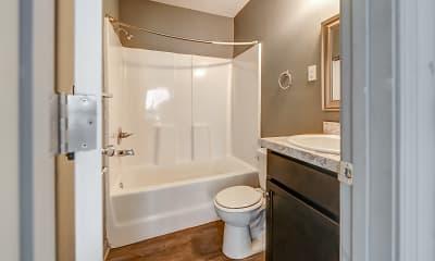 Bathroom, University Flats, 2