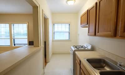 Kitchen, Garfield Court, 1