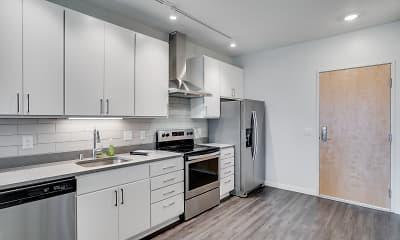 Kitchen, Green on Fourth, 1