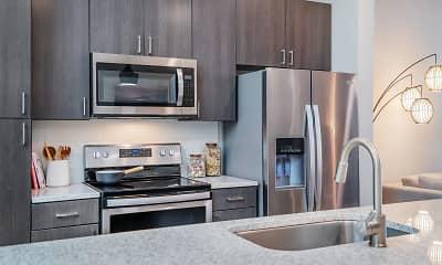 Kitchen, Cortland NoDa, 1