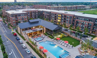 Pool, Apartments at the Yard: Kipton, 2