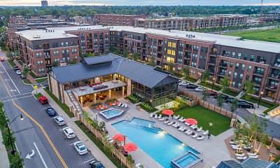 Pool, Apartments at the Yard: Kipton, 2