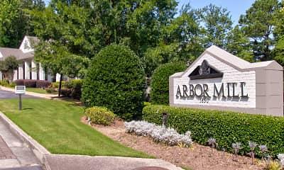 Community Signage, Arbor Mill, 1