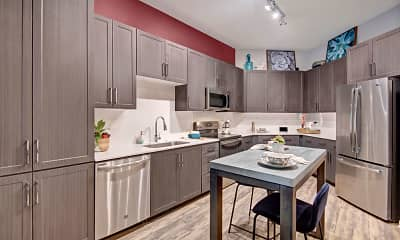 Kitchen, Park on Central, 0
