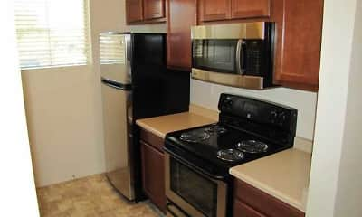 Kitchen, Brickstone Apartments on 33rd, 1