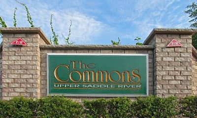 Community Signage, The Commons Upper Saddle River, 2