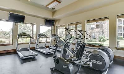 Fitness Weight Room, Constellation Ranch, 1