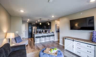 Living Room, Fremont Commons, 1