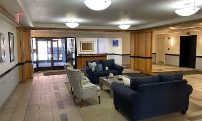 Living Room, Crittenden Court Apartments, 0