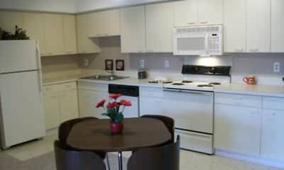 Kitchen, Tree Tops Apartments, 1