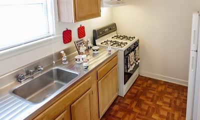 Kitchen, Washington Park Apartments, 0