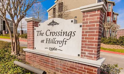 Community Signage, The Crossings at Hillcroft, 2