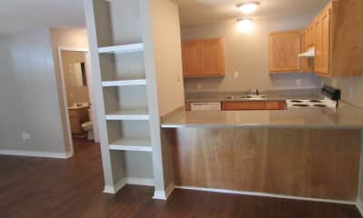 Kitchen, Royal Oaks Apartments, 0